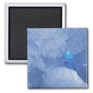 Antarctica, Ross Island, Cape Evans, Snow cave Magnet