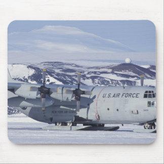 Antarctica, Ross Island, McMurdo station, C-130 Mouse Mat