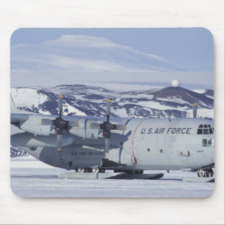 Antarctica, Ross Island, McMurdo station, C-130 Mouse Pad