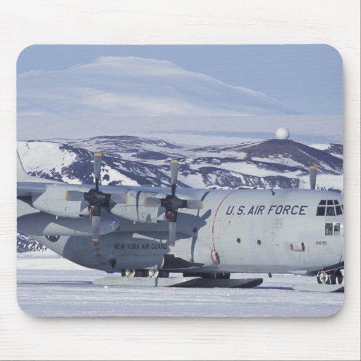 Antarctica, Ross Island, McMurdo station, C-130 Mouse Pad