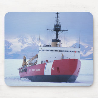 Antarctica, Ross Island, McMurdo Station, USCG Mouse Pad