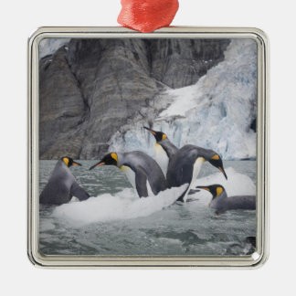 Antarctica, South Georgia Island (UK), King 14 Christmas Ornament