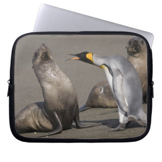 Antarctica, South Georgia Island (UK), King 3 Laptop Sleeve