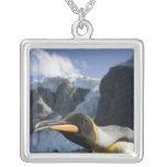 Antarctica, South Georgia Island UK), King 4 Custom Necklace