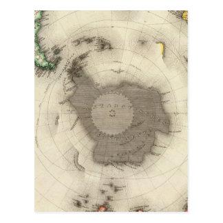 Antarctica, Southern Hemisphere Postcard
