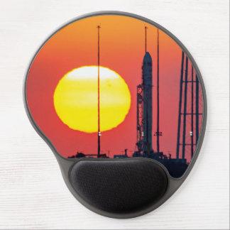 Antares Rocket at Sunrise Gel Mouse Pad
