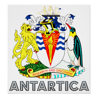 Antartica Coat of Arms Posters