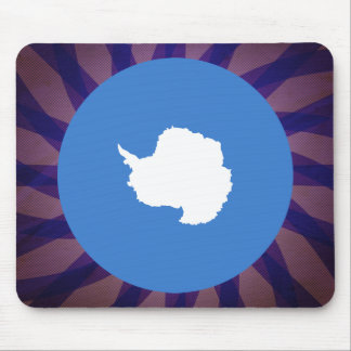 Antartican Flag Souvenir Mouse Pad