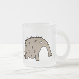 Anteater Frosted Glass Mug