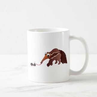 Anteater Meets His Lunch Coffee Mug