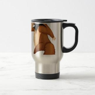 anteater stainless steel travel mug