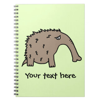 Anteater Spiral Note Books