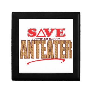 Anteater Save Small Square Gift Box