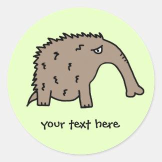 Anteater Round Sticker