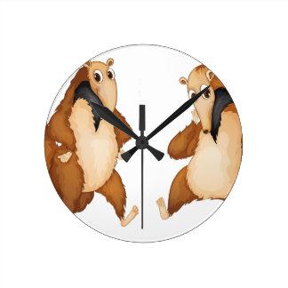 anteaters wall clocks