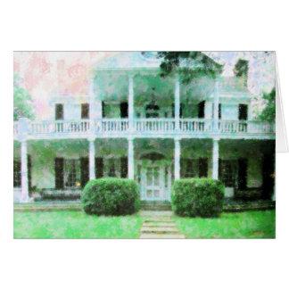 Antebellum Home Note Card