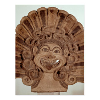 Antefix with the head of a gorgon postcard
