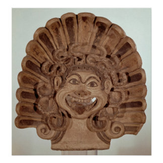 Antefix with the head of a gorgon poster