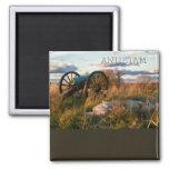Anteitam Autumn Cannon Square Magnet
