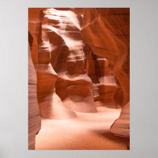 Antelope Canyon, Naturally Lit Poster