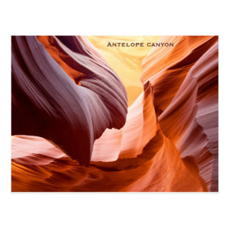 """Antelope canyon"" Postcard"