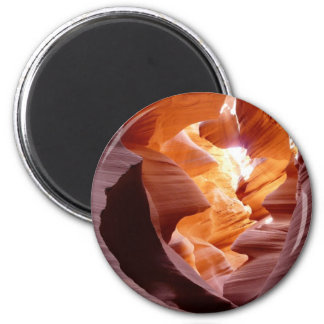 Antelope Canyon Sandstone 6 Cm Round Magnet