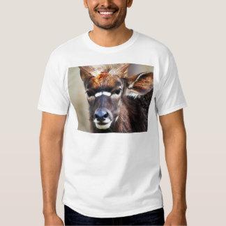 Antelope close up t shirts