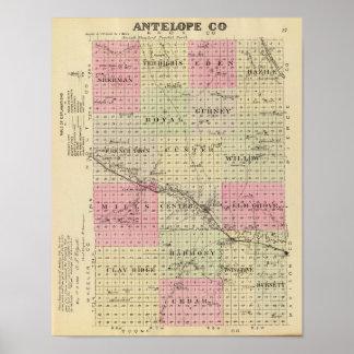 Antelope County, Nebraska Poster