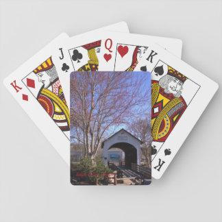 Antelope Creek Bridge, Eagle Point, Oregon Poker Deck
