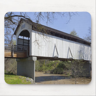 Antelope Creek Covered Bridge, built in 1922 Mouse Pad