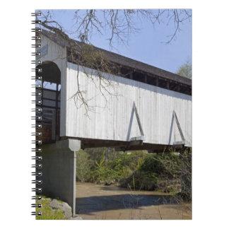 Antelope Creek Covered Bridge, built in 1922 Notebook
