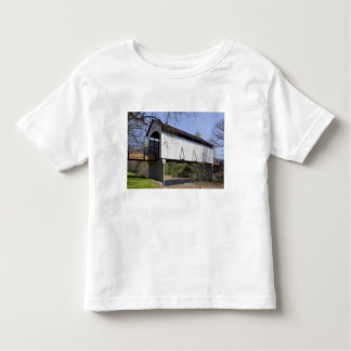 Antelope Creek Covered Bridge, built in 1922 Toddler T-Shirt
