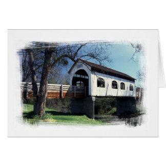Antelope Creek Covered Bridge Card
