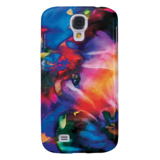 Antelope Curiosity - colorful art Samsung Galaxy S4 Cover