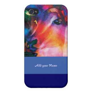 Antelope Curiosity - colorful art iPhone 4 Cover