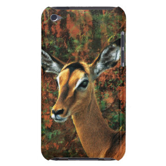 Antelope impala art iPod Case-Mate cases