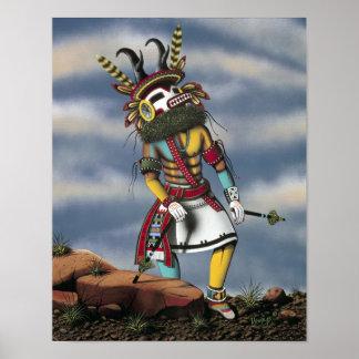 """""""Antelope Kachina"""" Poster"""