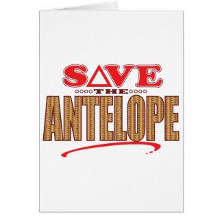 Antelope Save Card