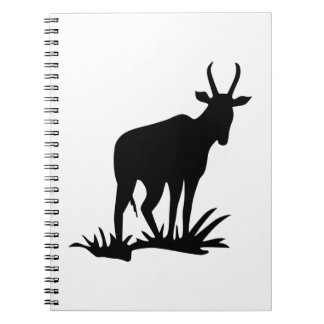 Antelope Silhouette Notebook
