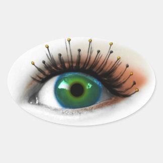 Antenna Eye Oval Sticker