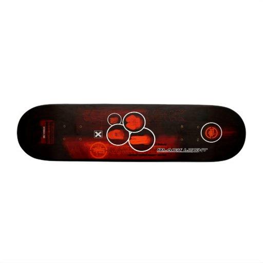 Antenna Zero BLACK LIGHT Skate Board Deck