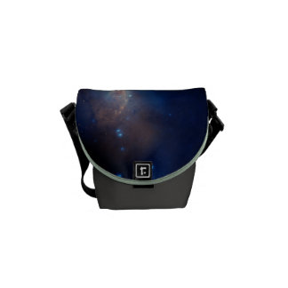 Antennae Galaxies Colorful Composite Courier Bags