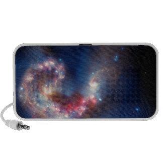 Antennae Galaxies Colorful Composite Mini Speaker