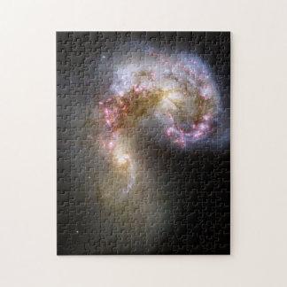 Antennae Galaxies Jigsaw Puzzle