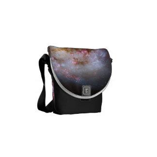 Antennae galaxies messenger bag
