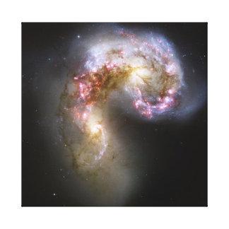 Antennae Galaxies on canvas Canvas Prints