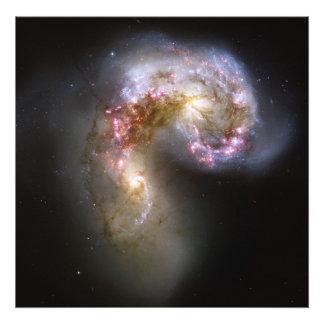 Antennae galaxies photograph