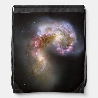 Antennae galaxies cinch bags