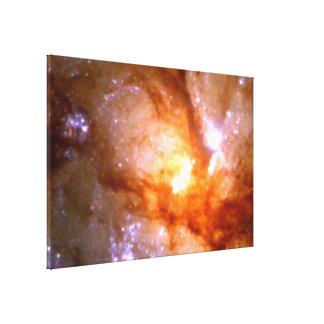 Antennae Galaxy Closeup (NGC 4038:4039 ) Stretched Canvas Prints
