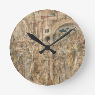 Antenor's Embassy to Greece and The Judgement of P Round Clock